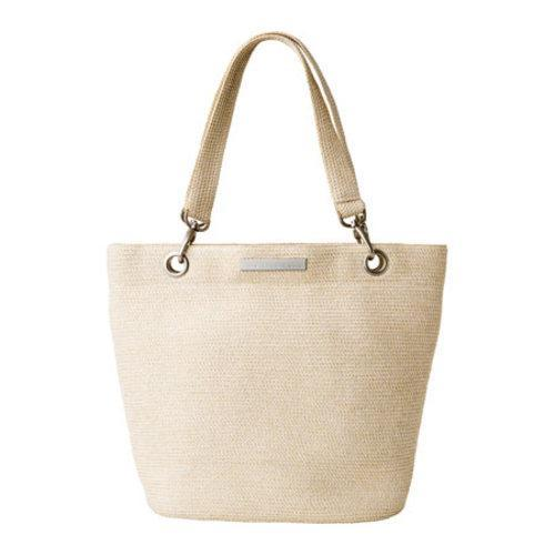 Women's Betmar Braid Tote Ecru