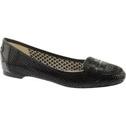 Women's Anne Klein Cuddy Black2/Black Reptile