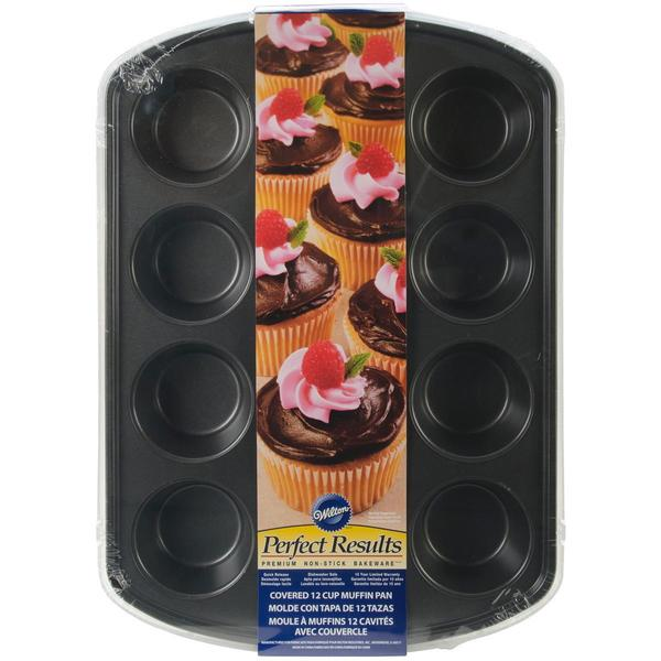 Covered Muffin Pan - 12 Cavity