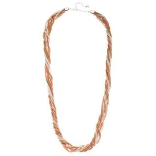 Alexa Starr Six-row Tri-tone Necklace