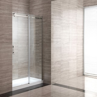 Ove Decors OWS-106 60-inch Glass Shower Enclosure with Acrylic Base