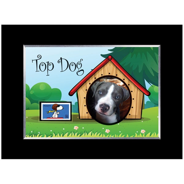 Top Dog Stamp Photo Frame