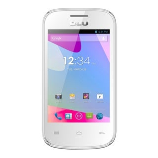 BLU Dash JR D140 Unlocked GSM Dual-SIM White Android Phone