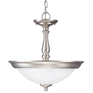 Sea Gull Lighting Northbrook 2-light Semi-flush Convertible Pendant