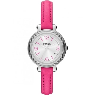 Fossil Women's 'Heather' Hot Pink Watch