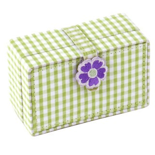 WOLF Green Kids Petite Mini Jewelry Box