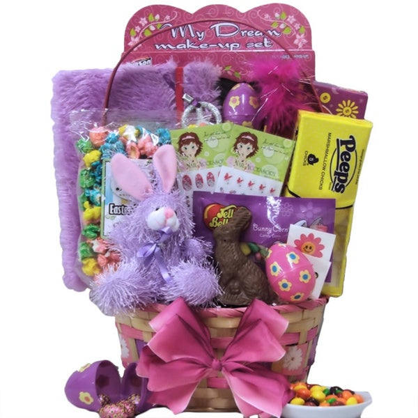 Egg-streme Glamour: Easter Gift Basket for Girls (Ages 6 to 9 Years)