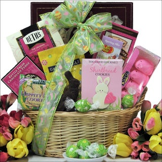 Divine Easter Sweets Chocolate & Sweets Small Gift Basket