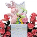 Happy Easter Baby Girl: Easter Gift Basket