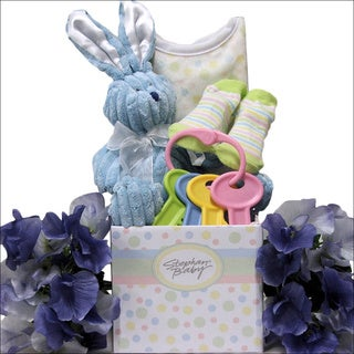 Happy Easter Baby Boy Easter Gift Basket