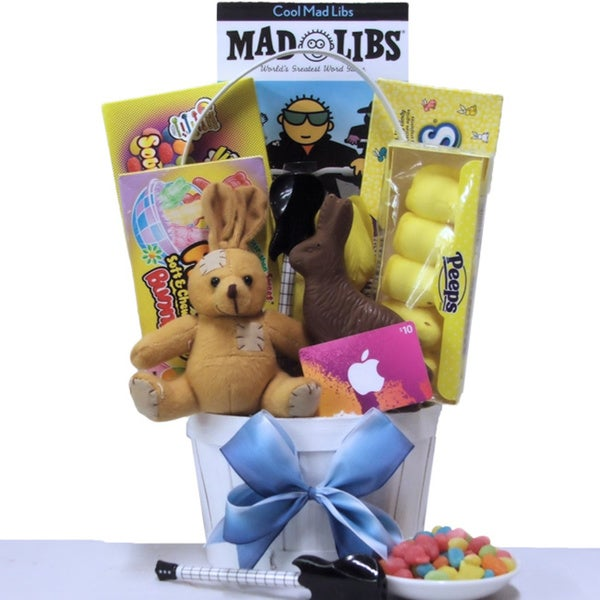 Cool Dude Tween Boys Easter Gift Basket