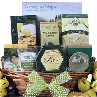 Tempting Easter Cheese Delights: Gourmet Easter Cheese Gift Basket