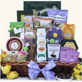 Easter Wishes Large Gourmet Easter Gift Basket