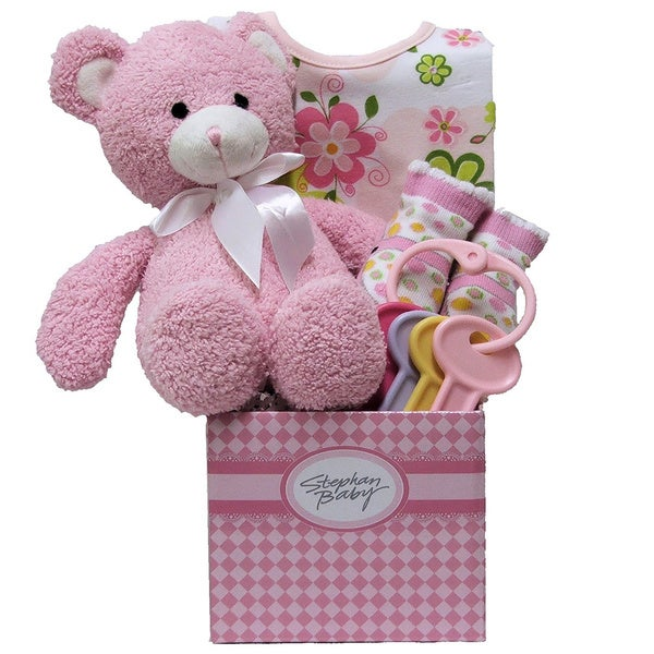Special Delivery Baby Girl Gift Basket