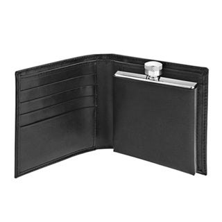 2-ounce Flask and Wallet Combo