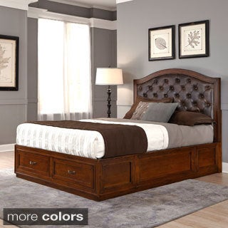 Duet King Diamond-tufted Platform Storage Bed
