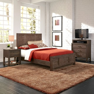 Barnside Bed, Night Stand, and Media Chest