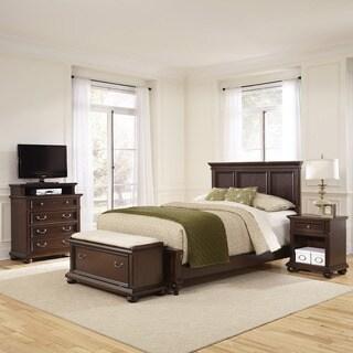 Colonial Classic Dark Cherry 4-piece Bedroom Set