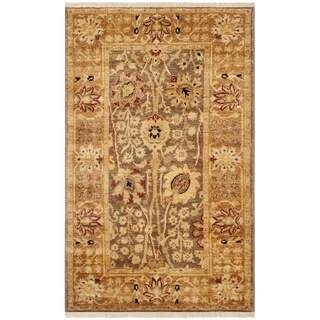 Safavieh Hand-knotted Peshawar Vegetable Dye Multi/ Gold Wool Rug (3' x 5')