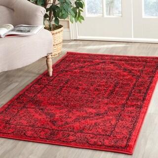 Safavieh Adirondack Red/ Black Rug (3' x 5')