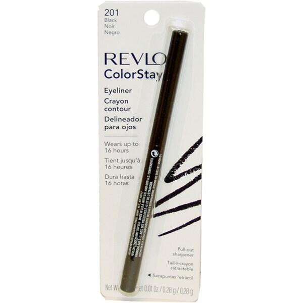 Revlon ColorStay #201 Black Eyeliner Pencil