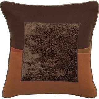 Square Center Jute Decorative Pillow