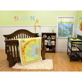 Nurture Imagination First Friends 3-piece Crib Bedding Set