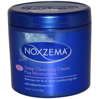 Noxzema Deep Cleansing Cream Plus 12-ounce Moisturizer