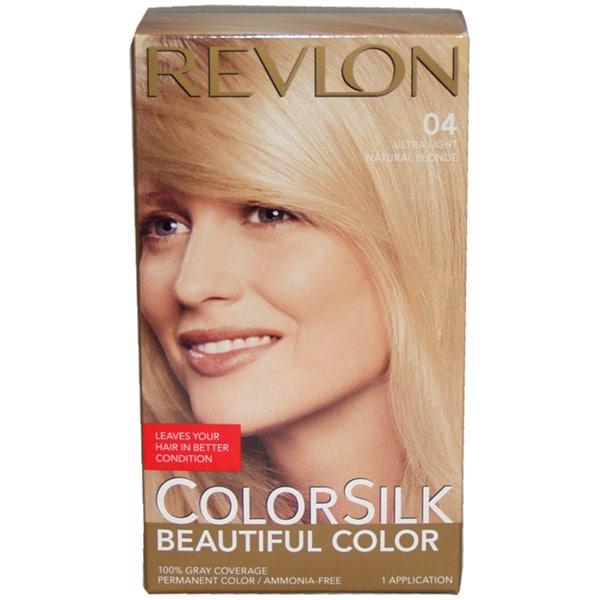 Revlon ColorSilk Beautiful Color Ultra Light Natural Blonde Hair Color (1 Application) 12639383