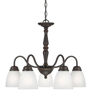 Northbrook 5-light Roman Bronze Downlight Chandelier