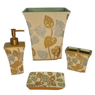 Sherry Kline Paradisio 4-piece Bath Accessory Set