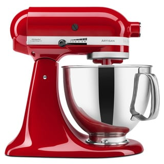KitchenAid KSM150PSER Empire Red 5-quart Artisan Mixer with **Bonus Accessories and Rebate**