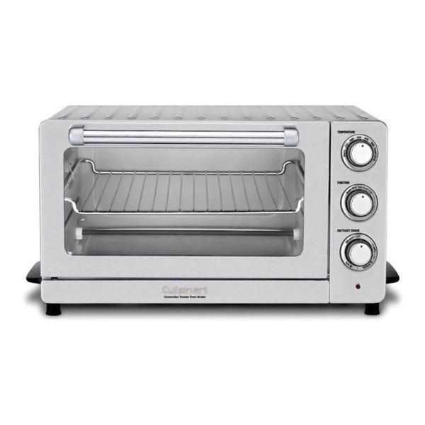 Cuisinart TOB-60N Stainless Steel Convection Toaster Oven Broiler with Bonus Chopper