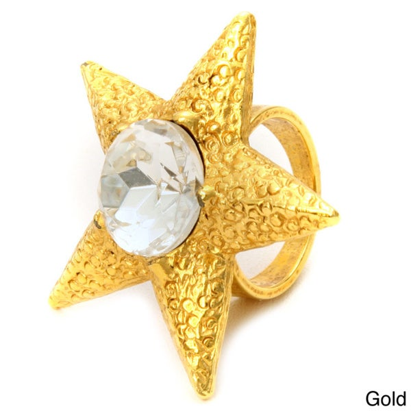 Gerard Yosca Star Cubic Zirconia Ring