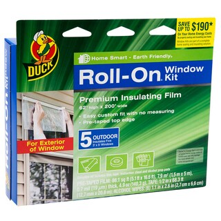 Duck Pre-taped Edge Window Kit (Pack of 5)