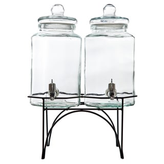 Gibson Home Party Duo Beverage Dispenser