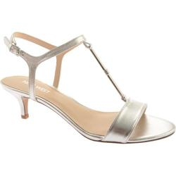 Women's Nine West Yeelied Silver Metallic Shadow Soft
