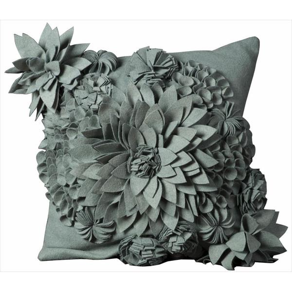 Mina Victory Felt 20-inch Throw Pillow