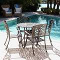 ComfortCare Dark Desert Bronze Cast Aluminum Patio Bistro Set