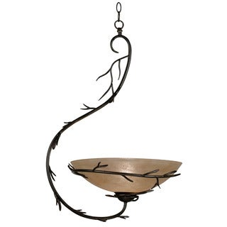 Long Branch 1-light Bronze Pendant
