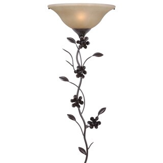 Magnolia 1-light Gold Wallchiere