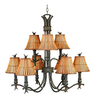 Alton 9-light Classic Bronze Chandelier