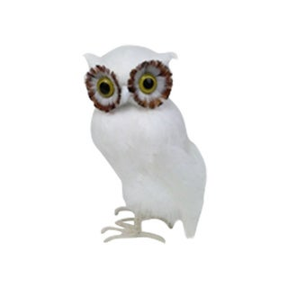 Sage & Co Feathered Owl Standing Statue
