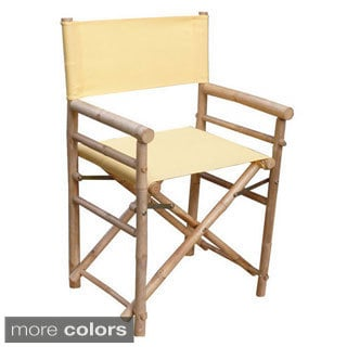 Hand-crafted Foldable Directors Chairs (Set of 2)