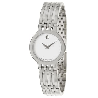 Movado Women's 'Esperanza' Stainless Steel Swiss Quartz Watch