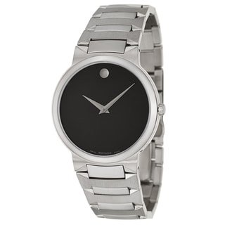 Movado Men's 'Temo' Stainless Steel Swiss Quartz Watch