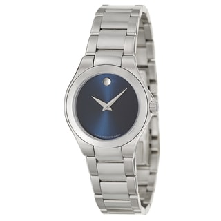 Movado Women's 0606336 'Defio' Stainless Steel Swiss Quartz Watch
