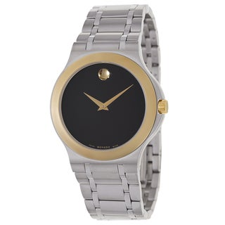 Movado Men's 'Movado Collection' Two-tone Stainless Steel Swiss Quartz Watch