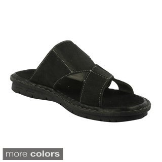 J's Awake Men's 'Diego-01' Comfort Slide Sandals