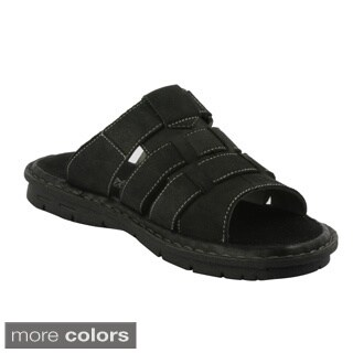 J's Awake Men's Diego-02' 4-strap Slide Sandals